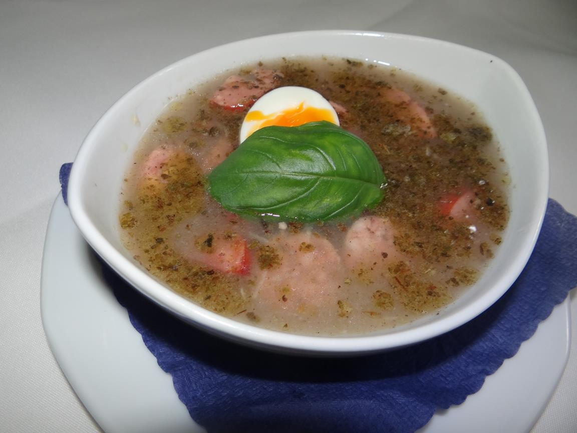 TRADITIONAL SOUR RYE SOUP